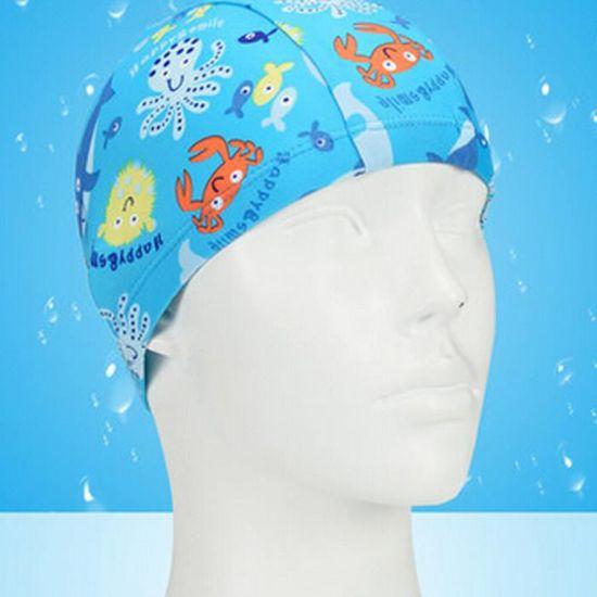 Tricoté Natation Le monde sous-marin enfants Caps bébé Bonnet de bain, Bleu  - Prix pas cher - Cdiscount 6bce4e46604