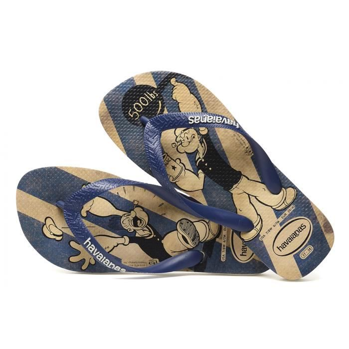 Tong Popeye Havaianas - Bleu