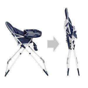 CHAISE - TABOURET BÉBÉ Chaise haute bébé enfant pliable 6mois + confortab