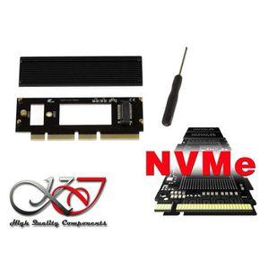 CARTE CONTROLEUR Adaptateur-Carte contrôleur compacte PCIe 16x pour