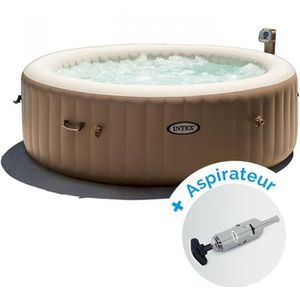 SPA COMPLET - KIT SPA Pack Spa gonflable Intex Pure Spa Bulles 6 personn