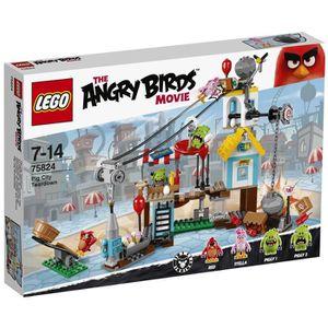 ASSEMBLAGE CONSTRUCTION LEGO® Angry Birds™ 75824 La Démolition de Cochon V