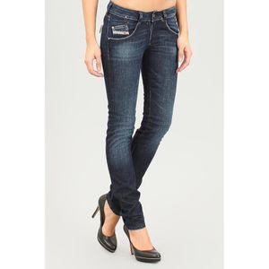 JEANS Jeans DIESEL Femme, Modèle LIV 008FC Regular Skinn