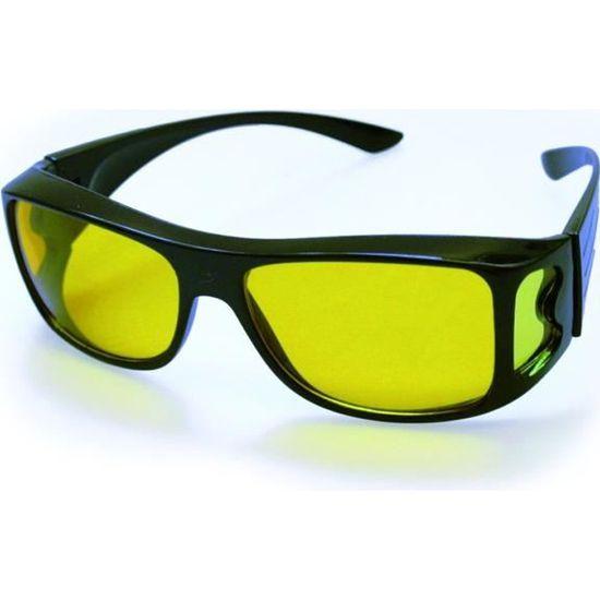 SURLUNETTES - VISION DE NUIT - ANTI EBLOUISSEMENT - Achat   Vente lunettes  lumiere bleue SURLUNETTES - VISION DE NUI - Cdiscount 4e25a7ebd0ac