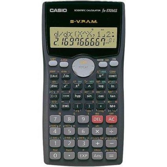 calculatrice scientifique casio gratuit