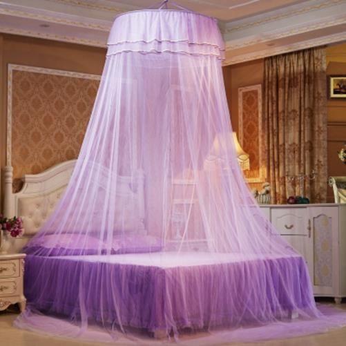 Moustiquaire de Lit Double Ciel de Lit Fille Princesse Accessoire ...