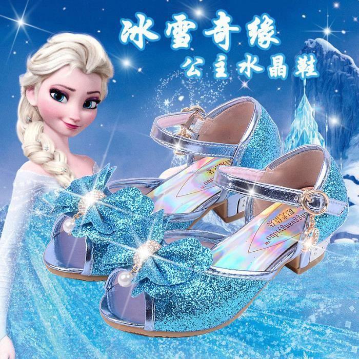 Nouvelles sandales d'été Sandales de glace et de neige fantastique pour enfants enfants arc sandales princesse chaussures pour mSTAlI