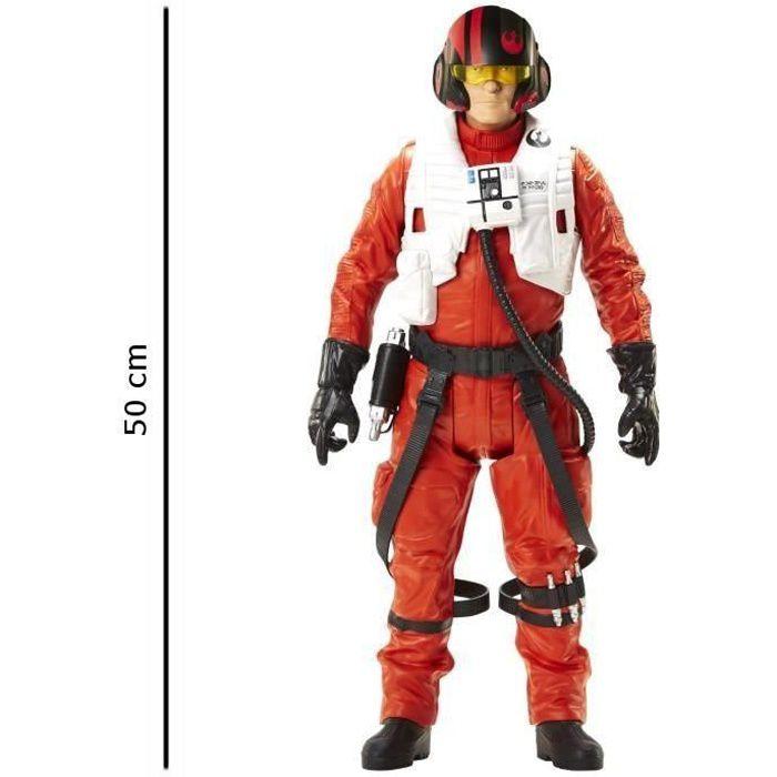 Star wars vii figurine de poe dameron 50 cm achat - Personnage de starwars ...