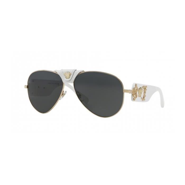 Lunettes de soleil Versace VE2150Q GOLD (134187) - Achat   Vente ... d3b8551605d9