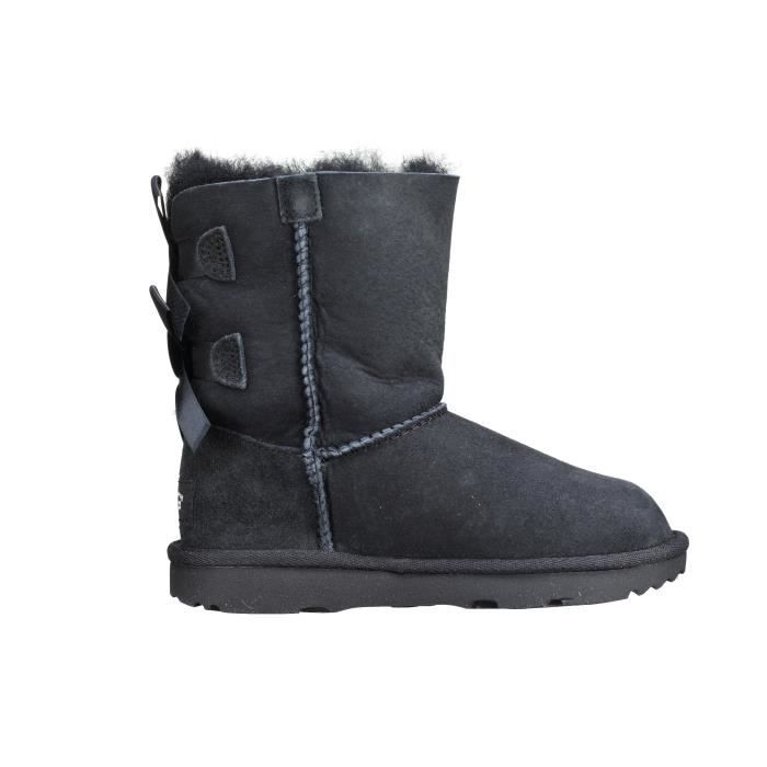 Bottes fille UGG T Bailey Bow 2 1017394t T - Black