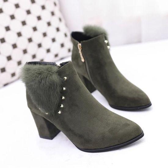 Chaussures à talons hauts Chaussures Chaussures Chaussures à talon haut Chaussures à talons en Ladie Vert Vert - Achat / Vente escarpin e8fa81