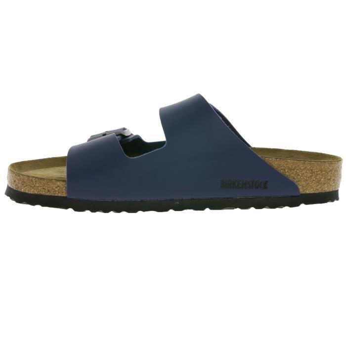 BIRKENSTOCK Arizona BS mules en cuir Hommes Bleu 0051061 p5CZ2F1