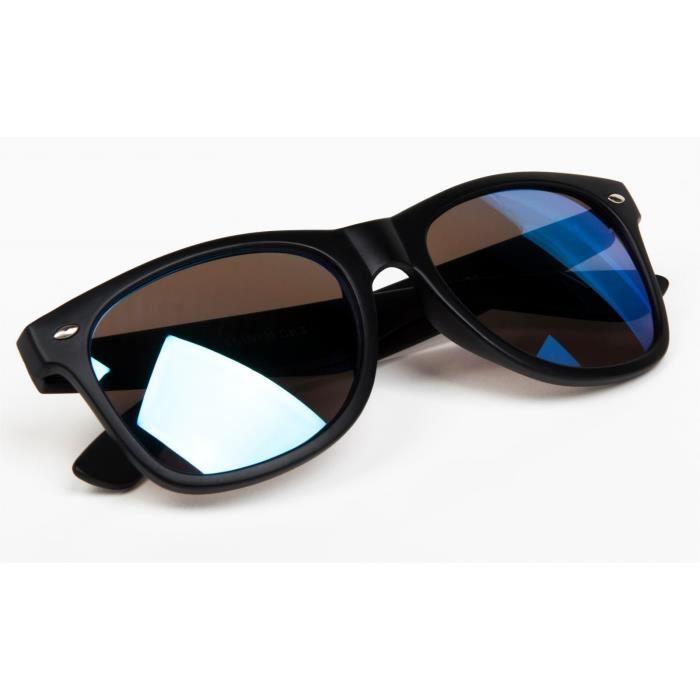nerd lunettes style verres unisexe antireflet classique à Noire rétro design de styleBREAKER soleil 09020039 SI14qq