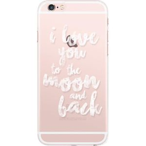 BIGBEN CONNECTED Coque Rigide Iphone 6 / 6S Love To The Moon - Transparente