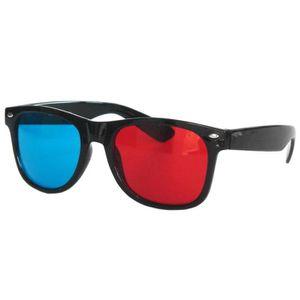LUNETTES 3D Geeky Wayfarer style rouge et bleu 3 dimensions - be3c1b5e987a