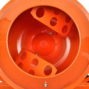 BÉTONNIÈRE Magnifique Betonniere electrique en acier orange 6