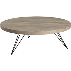 TABLE BASSE Table basse ronde 90 x 90 cm pieds design scandina
