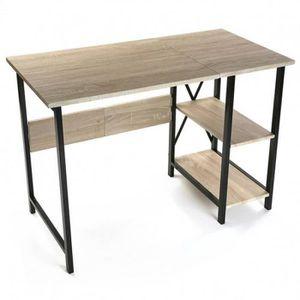 bureau style industriel achat vente bureau style industriel pas cher cdiscount. Black Bedroom Furniture Sets. Home Design Ideas