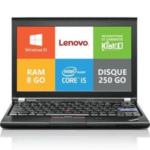 PC RECONDITIONNÉ ordinateur de bureau LENOVO X220 core I5 8go ram 2