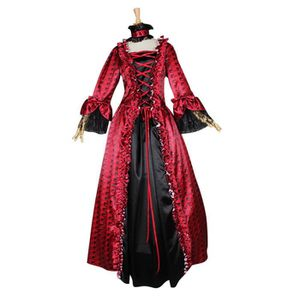 e513ef51af6 DÉGUISEMENT - PANOPLIE Déguisement élégant Robe Gothique Médiévale Renais