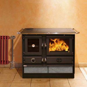 INSERT - FOYER Cuisinière à bois 12 kW, charbon, briquette Malina