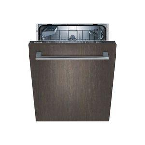 LAVE-VAISSELLE Siemens iQ100 SX615X00AE Lave-vaisselle intégrable