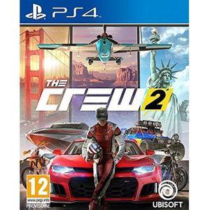 JEU PS4 The Crew 2 Jeu PS4 + 1 Porte Clé + 1 Led Skin