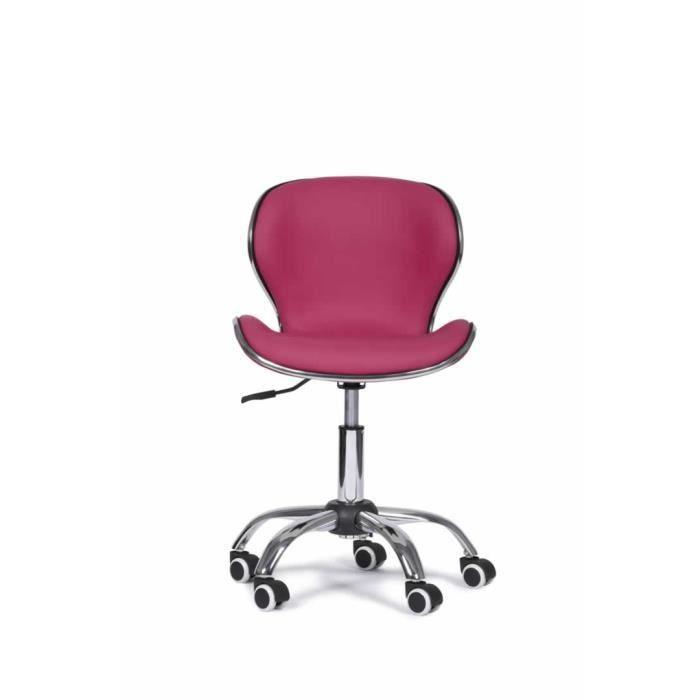 Chaise De Bureau Laurel Fushia
