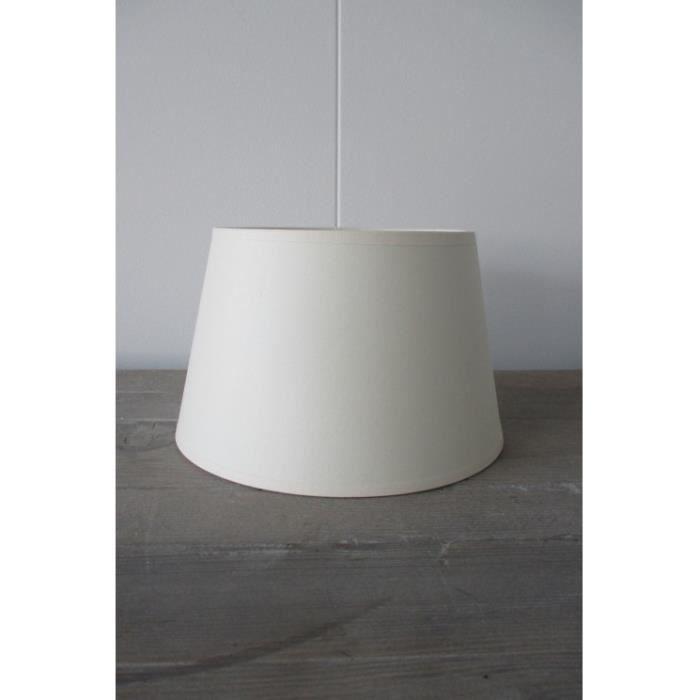 Abat jour cylindrique blanc 20 cm - Achat / Vente Abat jour ...