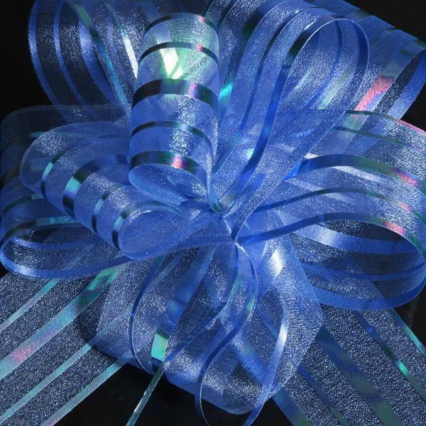 nœuds papillon pour décoration voiture mariage bleu - achat / vente