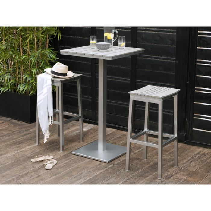 table mange debout jardin achat vente table mange debout jardin pas cher cdiscount. Black Bedroom Furniture Sets. Home Design Ideas