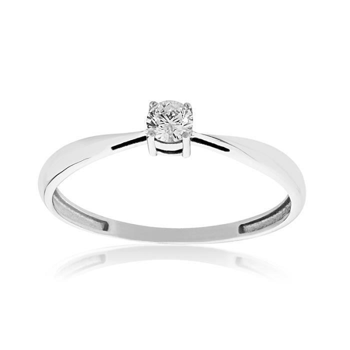 Solitaire Or 375/1000 Diamant