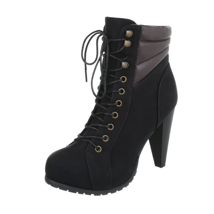 Outdoor Bottines Plateau   Ankle Boots Pumps   Bottines fermeture éclair   Ankle BootBottes à lacets   Chaussures femme Bottines
