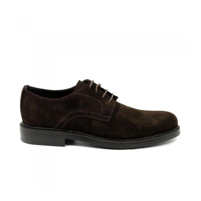 Lacets Daim TITTO Marron Chaussures Taille BLUNI Blucher 4wwtUqP1
