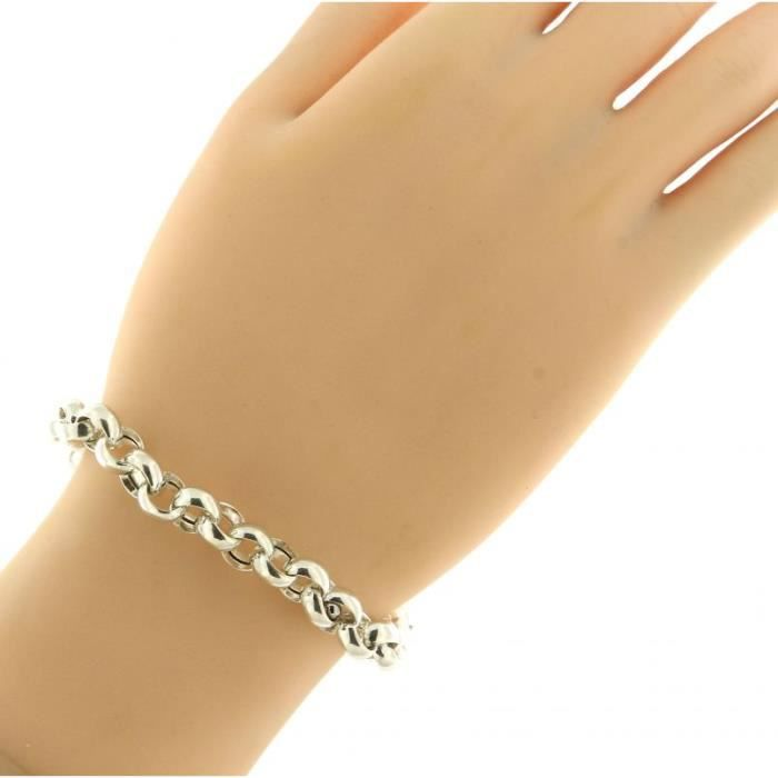 Bracelet Argent 925 ref 43857 Blanc