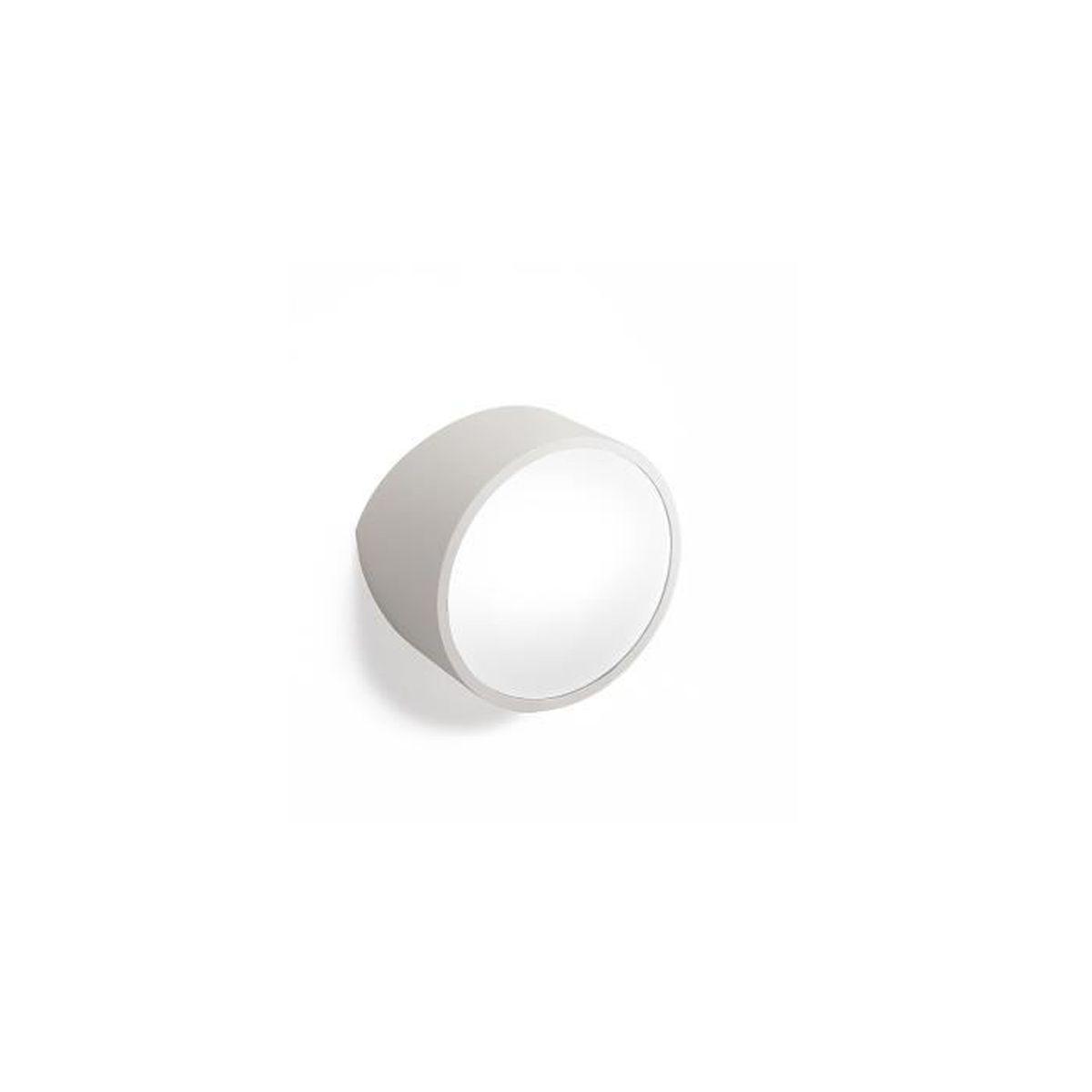 APPLIQUE  Applique design-  modèle rond- Mini Gris - 16,5 cm