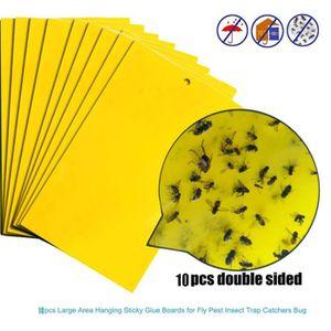 PRODUIT INSECTICIDE PRODUIT INSECTICIDE 10pcs pièges à mouches fortes