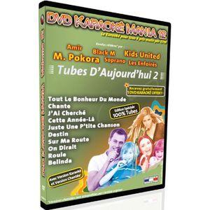 DVD MUSICAL DVD Karaoké Mania Vol.12