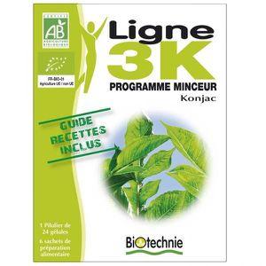 SOIN MINCEUR - DRAINAGE Ligne 3K Cure Minceur Konjac - Gélules + Pâtes