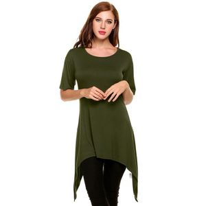 PULL Pull femmes Casual manches courtes col O solide ou