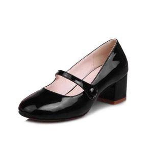 DERBY Femme Cuir Chaussures Printemps Automne Jeune Mari
