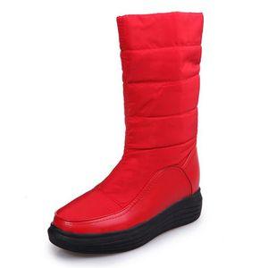 BOTTE Deessesale@Bottes hiver chaud neige Chaussures en