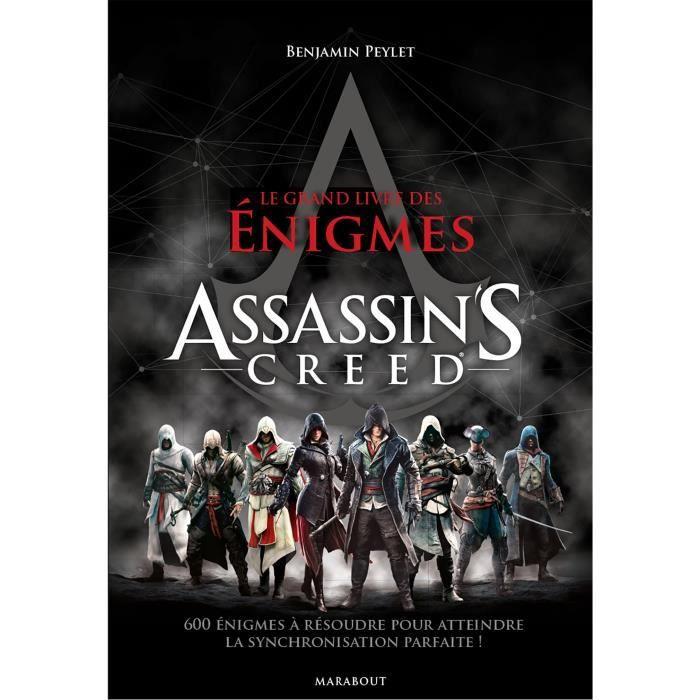 MARABOUT Le grand livre des énigmes Assassin's Creed - Dimensions (LxHxEpaisseur) : 176 x 248 x 30 mmAUTRES LIVRES