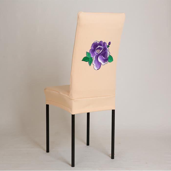 Fleur Imprimé Antipoussière Couvre Maison Hôtel Party De Mariage Décoration_JJZS * 5860