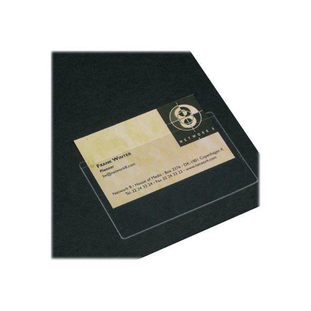 3L Office Pochette De Protection Carte Visite Pack 100