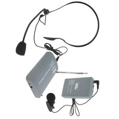 Kit Microphone Casque Sans-fil Portable