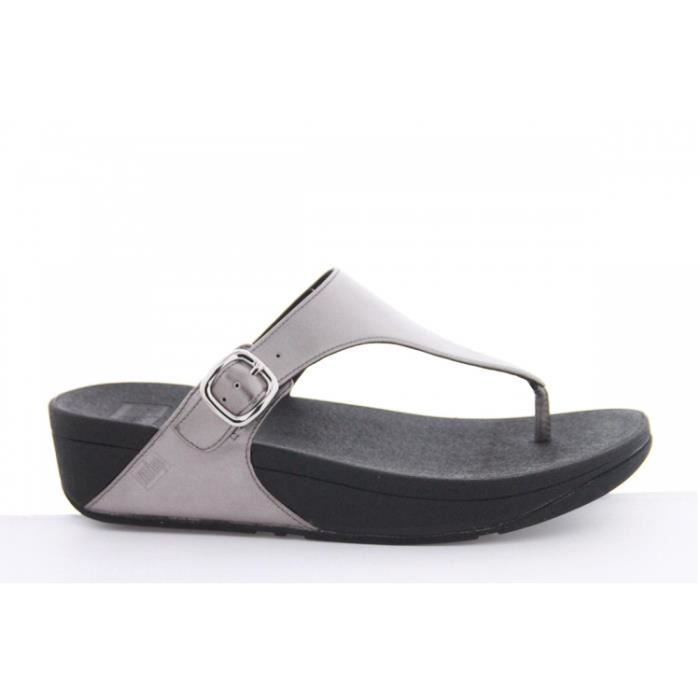 Tongs FitFlop The Skinny (Gris) Pewter