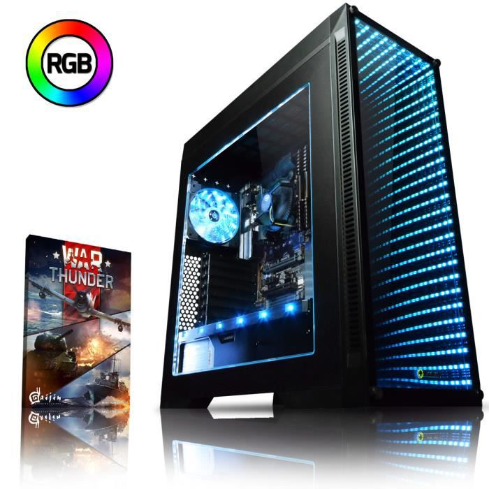 UNITÉ CENTRALE  VIBOX Nebula GSR560-16 PC Gamer Ordinateur avec Wa