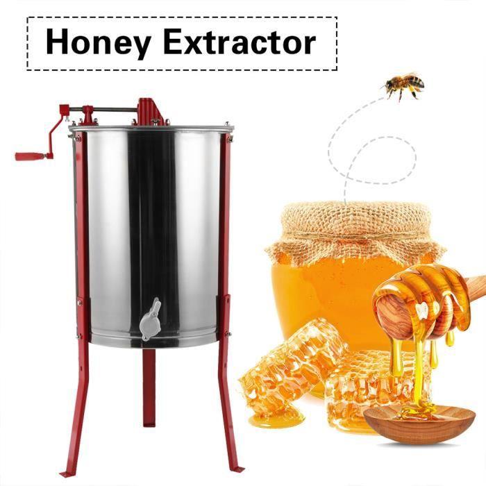 EXTRACTEURS Séparateur d'Extracteur électrique de miel de 4 ca