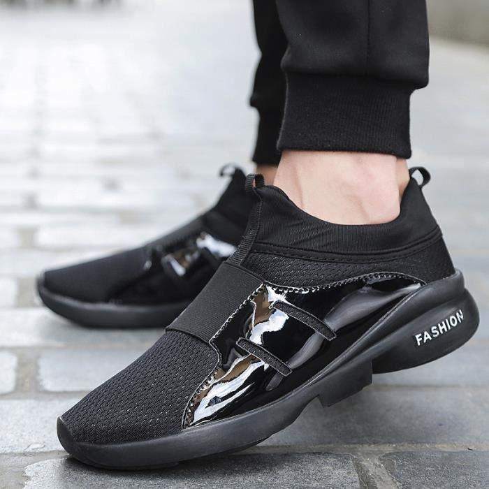chaussures multisport Homme Printemps AutomneFlats Slip sur Snekers marron taille8.5 sVd3WvOwQ